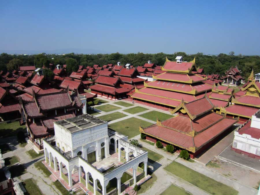 Mandalay Palace in Myanmar