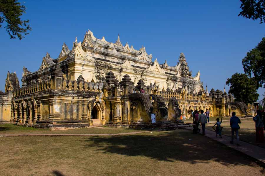 Inwa, the ancient capital of Myanmar