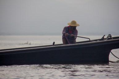 Inle Lake, Myanmar boat assassin