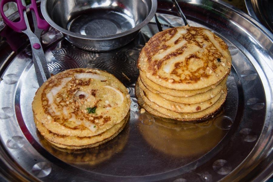 food in myanmar - pancakes