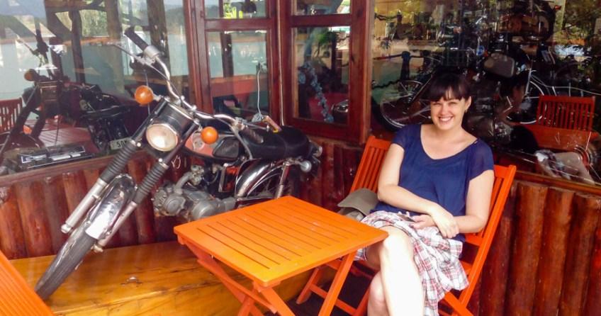 Pini Cafe on Tuyen Lake, Dalat, Vietnam