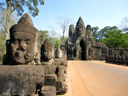 Ruins in Angkor Wat
