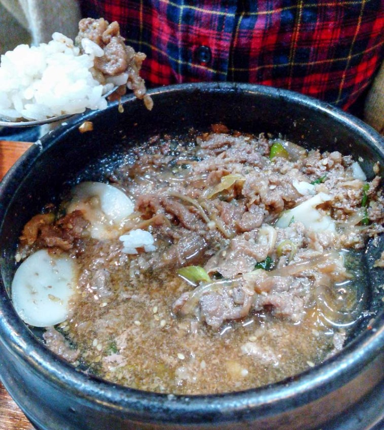 Bulgogi in Seoul, South Korea