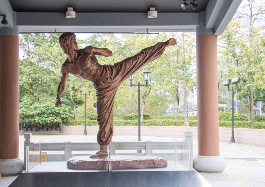 On the Cheap Hong Kong - Free Bruce Lee Exhibit