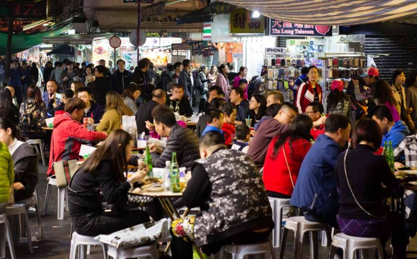 Hong Kong night market - Temple Street