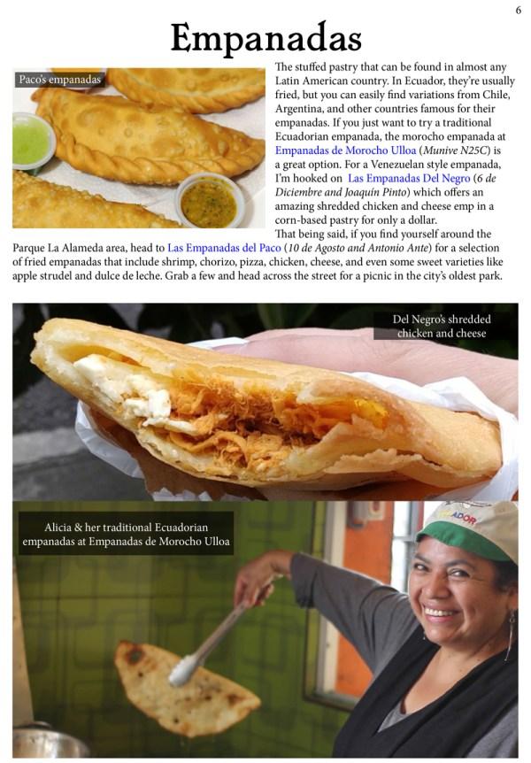 empanadas in quito ecuador