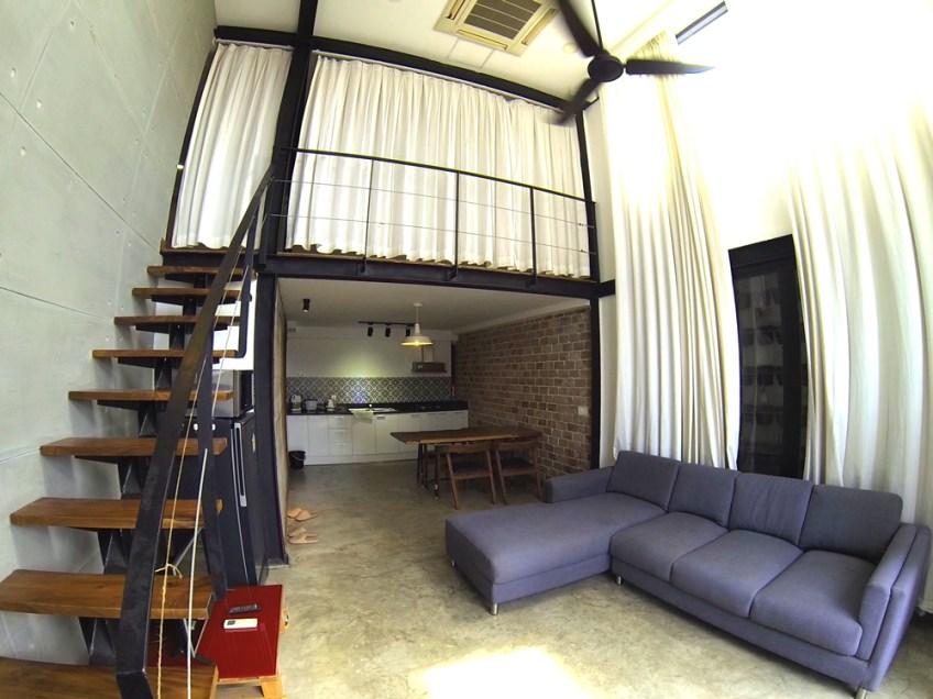 Duplex stule apartment in Cambodia