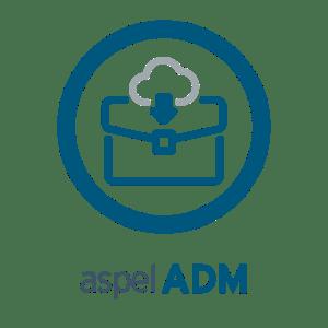Logo sistemas Aspel ADM