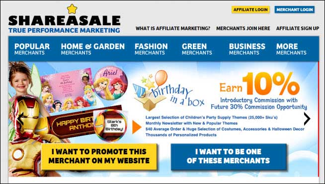 Affiliate marketing for dummies shareasale guide