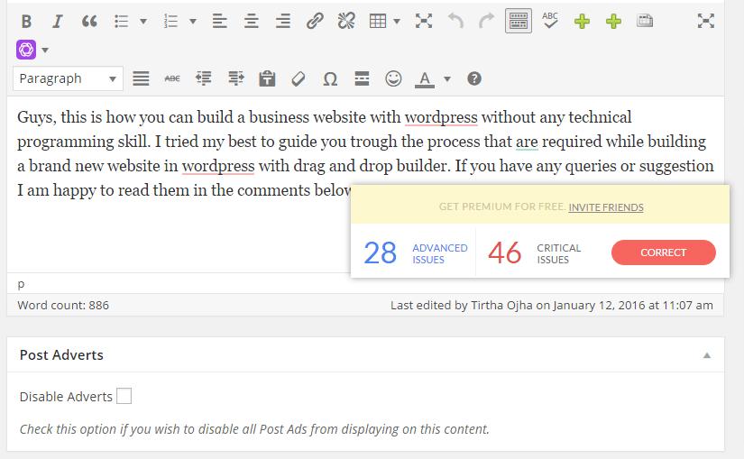 fix my sentence structure