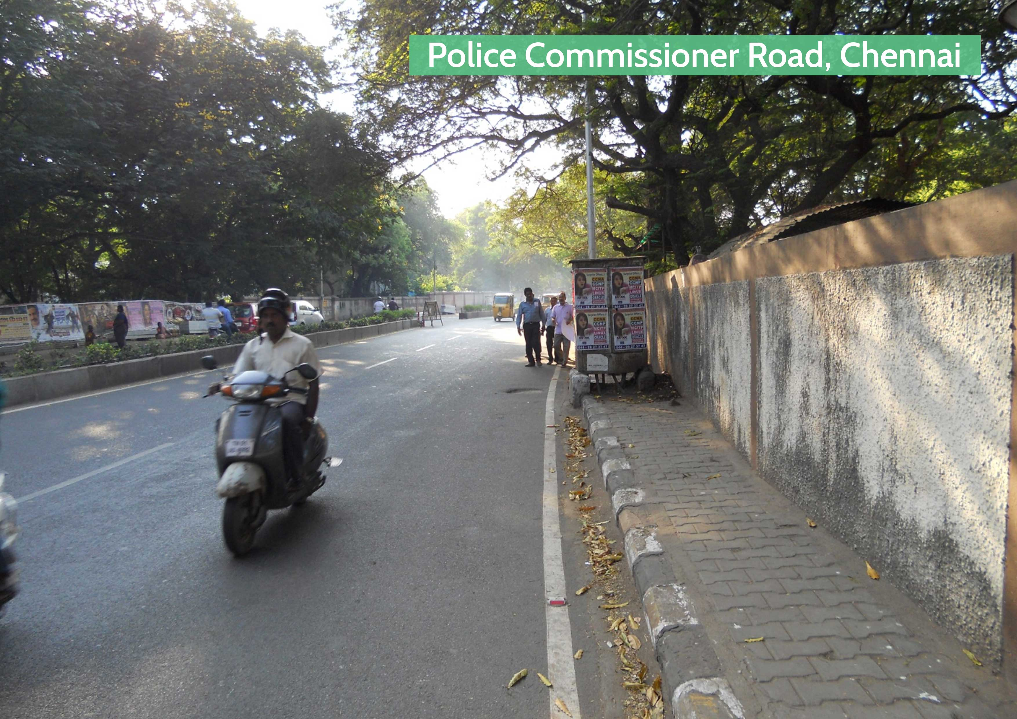 Before-Police Commissioner Road, Chennai