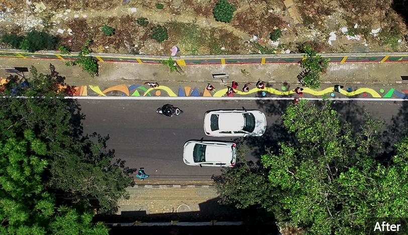 After-Sringeri Mutt Road