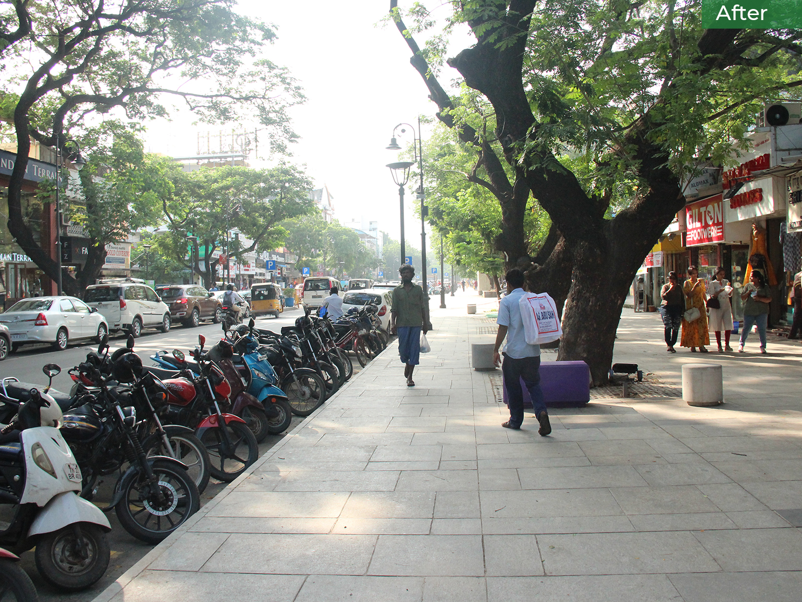 After-Organised Parking