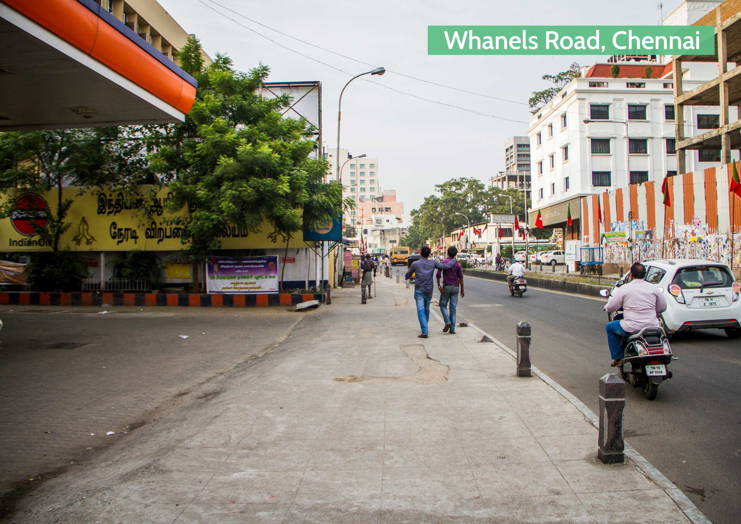 After-The transformation of Chennai's streets