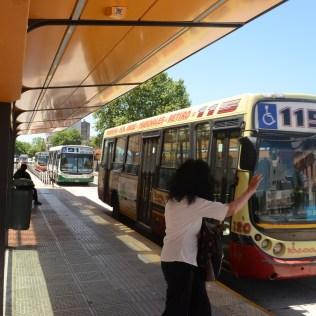 The Juan B. Justo BRT Corridor in Buenos Aires, Argentina