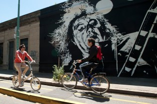 Buenos Aires added bike lanes
