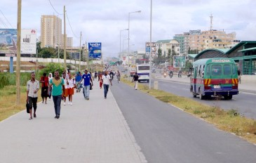 ...and wide sidewalks are needed throughout Africa.