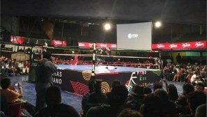 """""""Cara a Cara"""" Event: The World Bike Forum hosted 4 social entrepreneurs from Chile and Colombia. They presented the origins of local advocacy projects and their personal takeaways while engaging with professional Mexican wrestlers."""