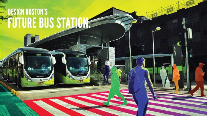 BostonBRT Station Design Competition flyer