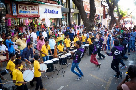 Two trial runs were organized by the Chennai Smart City Ltd. to test the proposed design for the pedestrian plaza in T.Nagar. The 700m stretch was bustling with activity and shoppers during both trial runs - a hit amongst the public.
