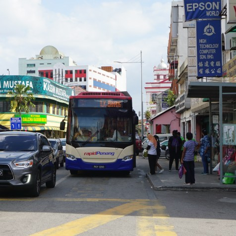 Rapid Penang BRT bus