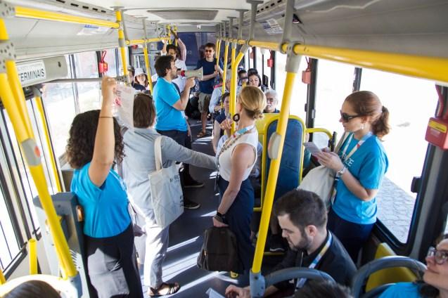 Fortaleza created over 100 kilometers of dedicated bus lanes.