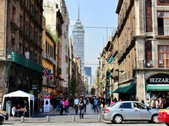 Mexico City is an economic powerhouse in Mexico, and is one of the most economically powerful cities in Latin America.