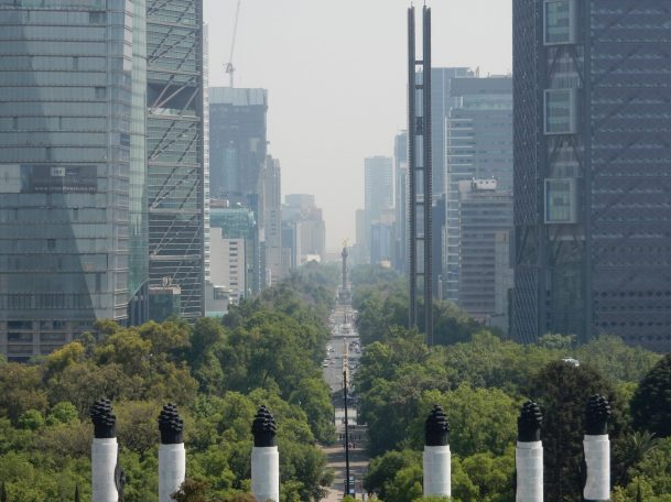 Paseo de la Reforma has been transformed from a car centric boulevard to a thoroughfare for BRT with additional pedestrian and cycling infrastructure.