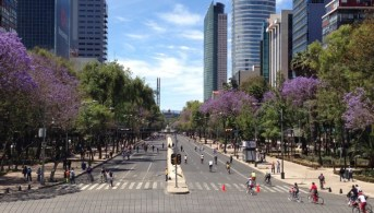 Car Free Sundays, shown here, have helped demonstrate the value and potential of space when cars aren't there.