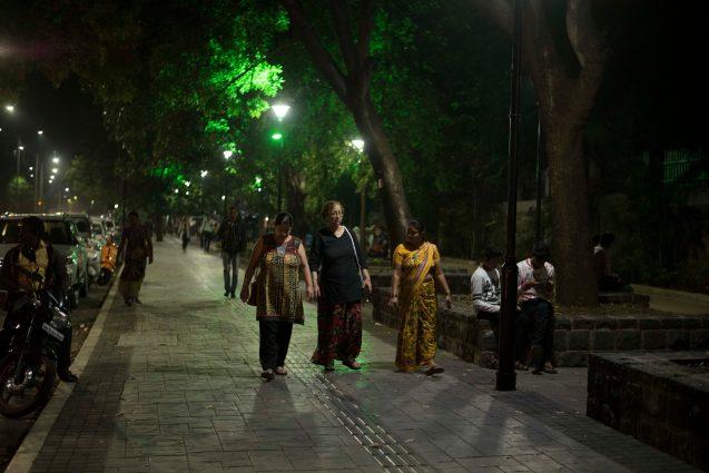 Pune's streets have given pedestrians a pleasure difficult to find throughout the city: a safe walking environment.