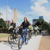 Cycling is an opportunity to build resiliency in Guatemala City, Guatemala.