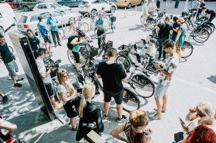 Increasing cycling infrastructure and creating a bikeshare have been taken by Tartu, Estonia.