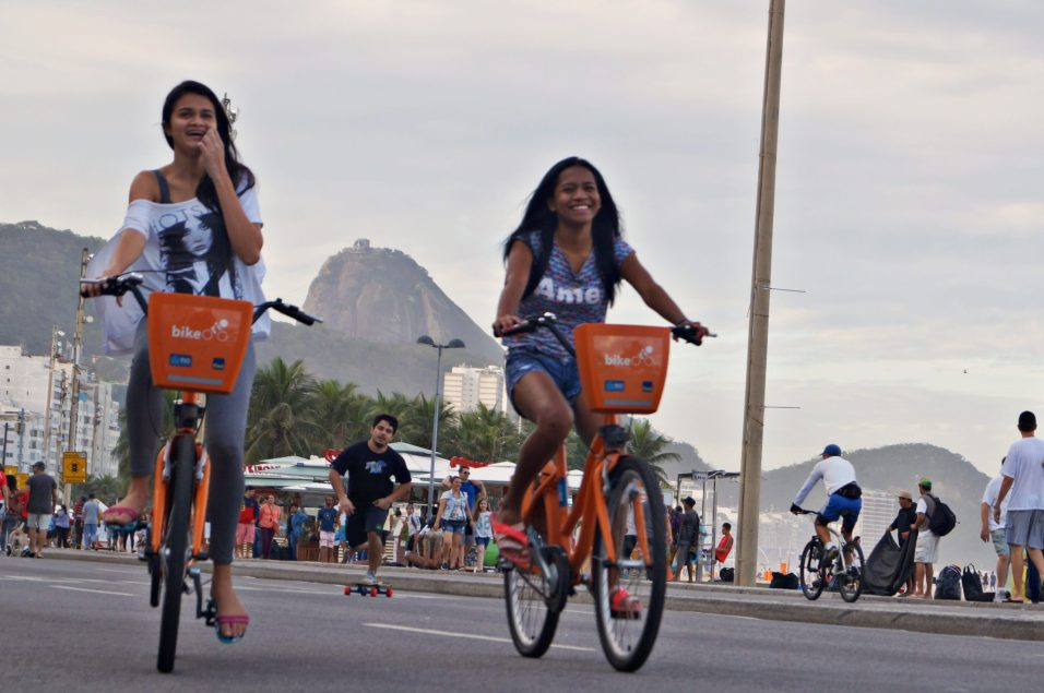 In Rio de Janeiro, Car Free Days gave residents an opportunity to use the bikeshare and move around unencumbered by fearing vehicle traffic.