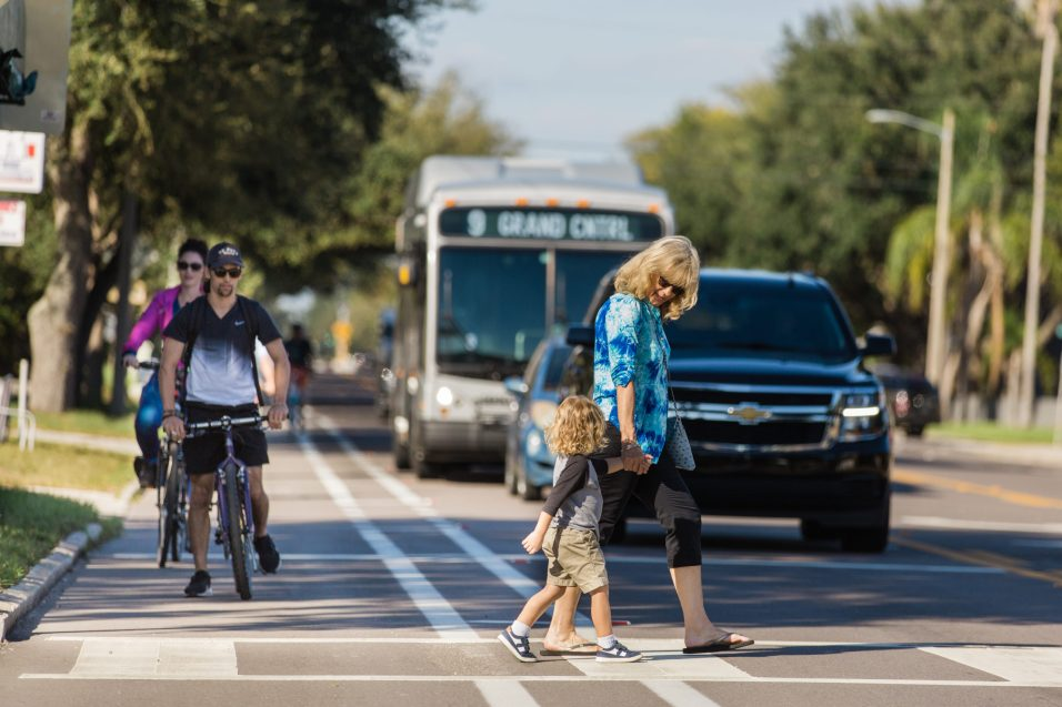 With a comprehensive approach involving walking, cycling, electrification, and a shift away from cars are all necessary parts of combating climate change.