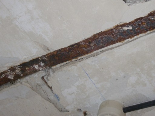 Corrosión en acero