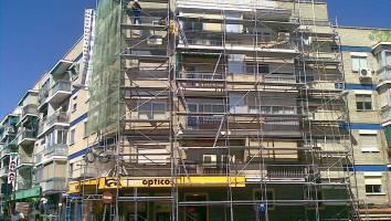 Lesiones en fachadas