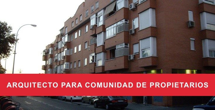 arquitecto para comunidad de propietarios