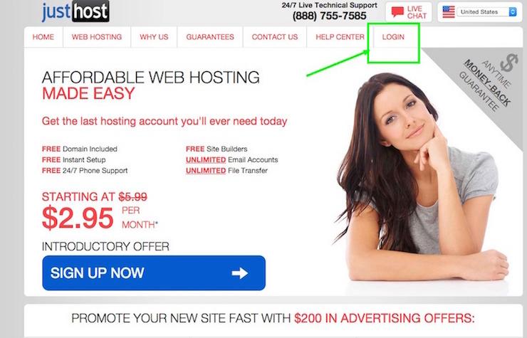 Justhost WordPress Tutorial