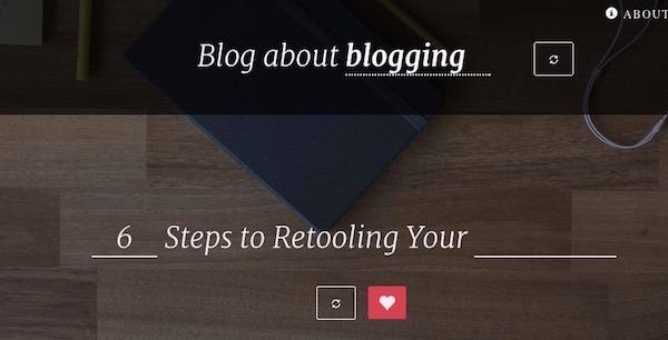 blog topic inspiration tool