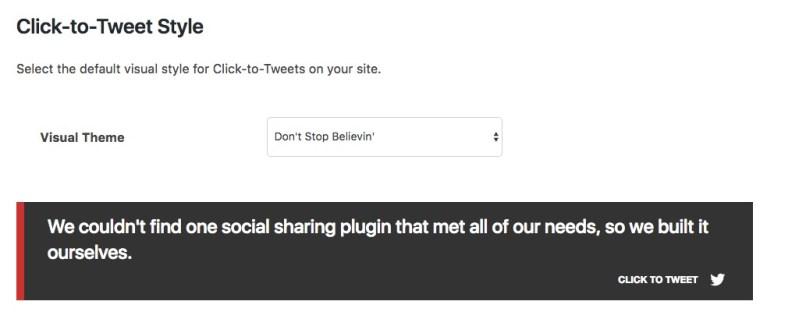 Social Warfare Click to Tweet