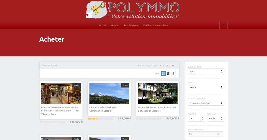 Agence Polymmo