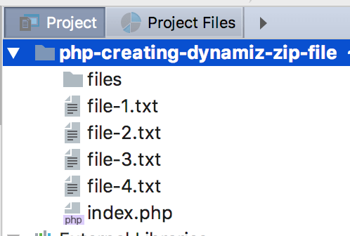 How to create dynamic zip Archive file in PHP? – iTech Empires