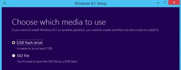 USB install windows 8