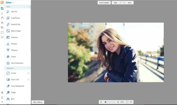 ipiccy online photo editor