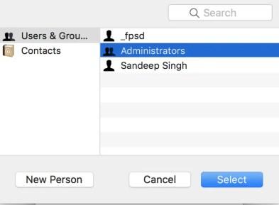 add admin to chrome mac