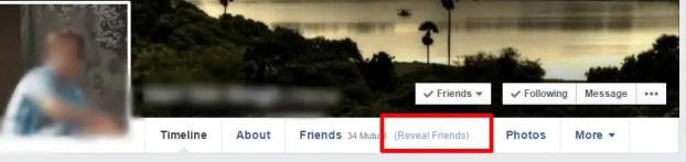 see hidden friend list facebook
