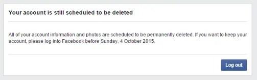 delete facebook in 2015
