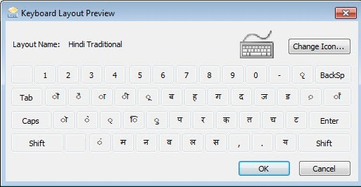 Change Keyboard Language hindi