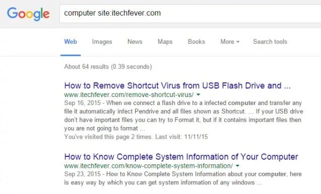 google search secretes