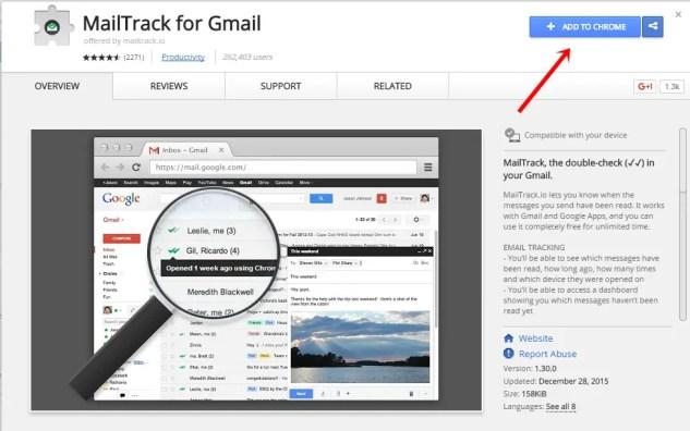 track sent mails